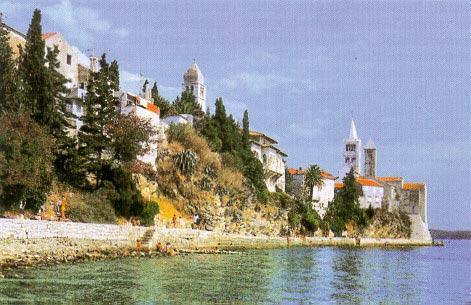 Grad Rab - jedan od prvih utemeljitelja Zaklade